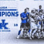 JJ Williams Strike Lifts No. 3 Kentucky MSOC to C-USA Tournament Title
