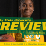 GAME PREVIEW: Kentucky State WBB Albany State University