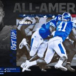 Kentucky Football's Josh Allen Named First-Team All-America by Sporting News