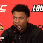 UofL Basketball Dwayne Sutton on WIN vs Lipscomb