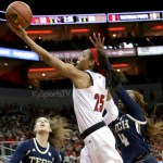 Durr, Fuehring lead No. 2 Louisville past Georgia Tech, 61-44