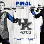 UK Rifle Fires 4701 at Withrow Invitational