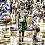 Dea Bradley – 7th Grader GETTIN BUCKETS Starting Varsity