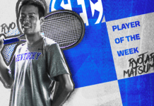 University of Kentucky mens tennis 2019