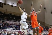 Eastern Kentucky University mens basketball 2018-19