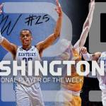 UK MBB's Washington Tabbed Oscar Robertson National Player of the Week