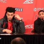 UofL MBB Jordan Nwora & Christen Cunningham on LOSS To Duke