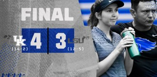 University of Kentucky tennis 2019