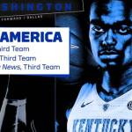 UK MBB's Washington Adds NABC All-America Third Team Honors