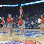 Boyd County HS Girls 2019 Sweet 16 In-Game Cheer Competition