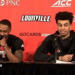 UofL MBB VJ King & Jordan Nwora on WIN vs Notre Dame