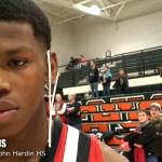 John Hardin HS Basketball Trevon Harris on Regional Championship WIN