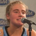 Mercy Academy Basketball Sweet 16 Presser vs GRC