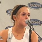 Pikeville HS Girls Basketball Sweet 16 Presser vs Barren County