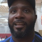 Alabama Dream AAU Basketball Coach Nikita Stover at WK Sports Hilltopper Hoops Festival