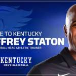 Geoffrey Staton Named UK Men's Basketball Athletic Trainer