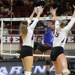 EKU VOLLEYBALL FALLS IN FOUR SETS TO TENNESSEE STATE