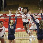WKU Volleyball Matthews' Record Night Leads Tops to Third Tournament Win