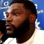 UK Wildcats Football DT Kordell Looney Reacts vs Florida