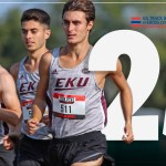 EKU XC KEEP CLIMBING: MEN'S CROSS COUNTRY UP TO NO. 25 IN NATIONAL RANKINGS