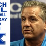 Coach Calipari on UK Basketball Media Day 2019