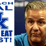 """""""Kentucky WILL EAT FIRST"""" Coach Cal comments on Paying Players"""