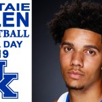 UK Wildcats Basketball Dontaie Allen on Media Day 2019
