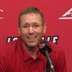 Louisville Football Coach Scott Satterfield Previews #3 Clemson.