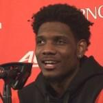 Louisville Basketball Darius Perry Postgame vs Miami Ohio