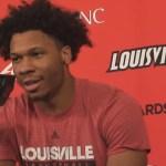 Louisville Basketball Dwayne Sutton Postgame vs Miami Ohio