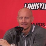 Louisville Basketball Coach Chris Mack Previews #4 Michigan