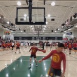 Barren County HS Basketball Warmups vs Hart County 1-27-20