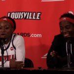 Louisville WBB D. Evans & J. Jones on Playing USA Womens National Team