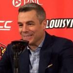 Virginia MBB Coach Tony Bennett on LOSS to #5 Louisville