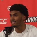 Louisville MBB Malik Williams on WIN vs Virginia