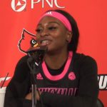 Louisville WBB Evans Named USBWA National Player of the Week