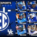 Nine UK FB Wildcats Earn Athlon Preseason All-SEC Honors