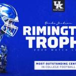 UK Football's Drake Jackson Named Rimington Trophy Candidate