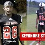 Keyandre Strand PUT IN WORK for John Hardin HS Football vs Moore