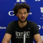 UK Wildcats Basketball Olivier Sarr After Loss to Notre Dame