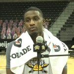 NKU MBB Marques Warrick Postgame vs Youngstown State