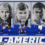 Three UK Footballers Earn Phil Steele All-America Honors
