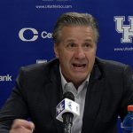 UK Wildcats Basketball Coach Calipari Postgame vs Vanderbilt