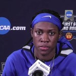 UK WBB Rhyne Howard Postgame vs Iowa in NCAA Tourney 2021