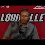 Louisville Cardinals Football Coach Satterfield Previews Ole Miss 8-30-21