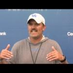 UK Wildcats Football DC Coach Brad White Press Conference 9-1-21
