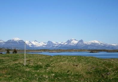 Utsikt mot fastlandet