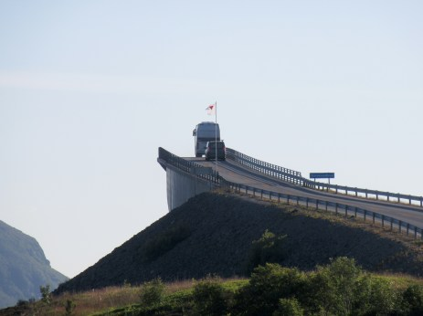 Bro langs Atlanterhavsveien