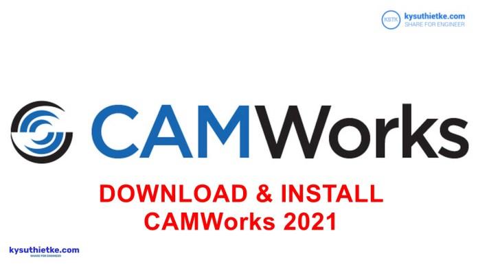 Download CAMWorks 2021 SP1 for SOLIDWORKS / Solid Edge 2020-2021 Link Google Drive 3