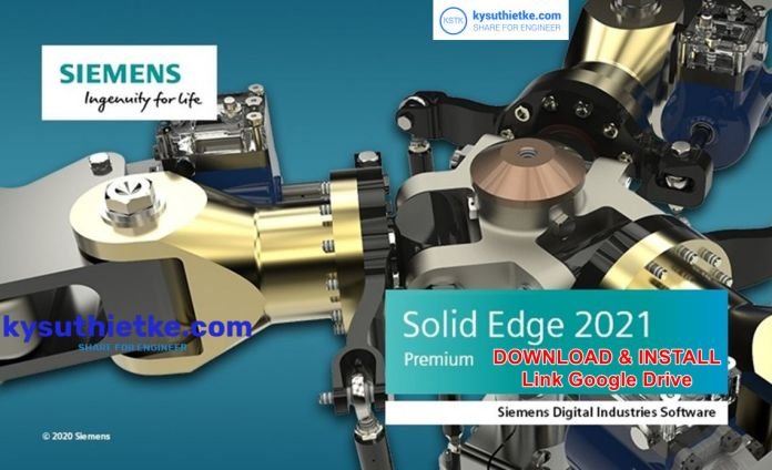 Solid Edge 2021 Free Download Link Google Drive
